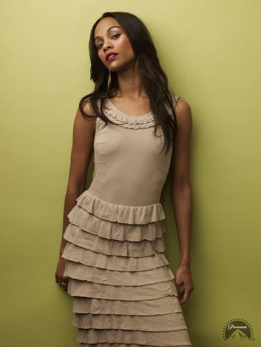 Zoe Saldana | तारा, स्टार Trek Promotional Photoshoot (2009)