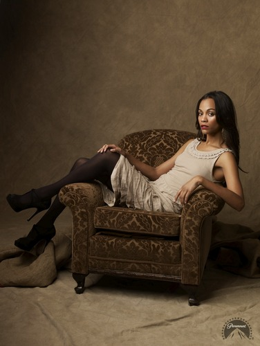 Zoe Saldana | estrella Trek Promotional Photoshoot (2009)