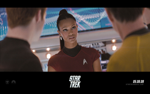 Zoe Saldana | étoile, star Trek Widescreen fond d'écran
