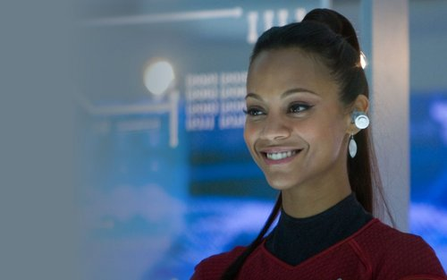 Zoe Saldana | Star Trek Widescreen Wallpaper