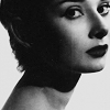 Audrey Hepburn picha with a portrait called audrey