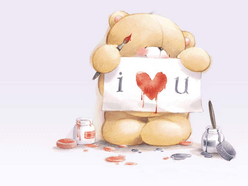 Love wallpaper called bear