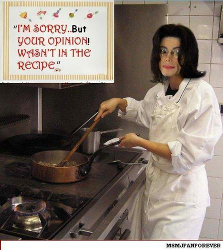 "cooking with ""MJ"""