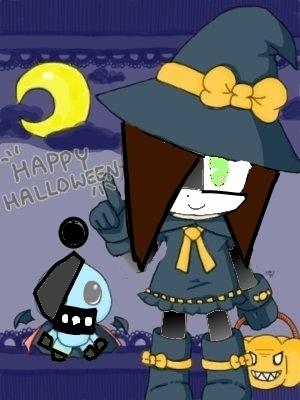 cute Хэллоуин girl which is me