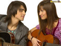 demi and joe - demi-lovato-and-jonas-brothers wallpaper
