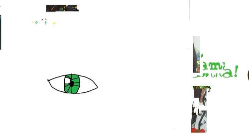 eye i drew