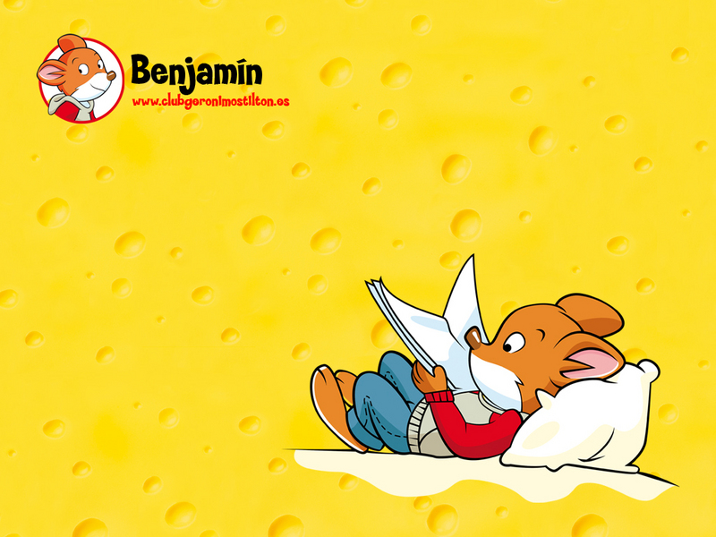Geronimo Stilton Benjamin. geronimo stilton