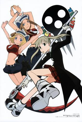 girls of soul eater