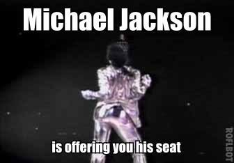 """his """"seat"""""""