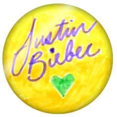 justin's badge he drew