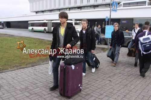sasha in Saint Petersburg, Russia  29/11/2009:))
