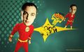 sheldon-cooper - shelly~The flash is coming wallpaper