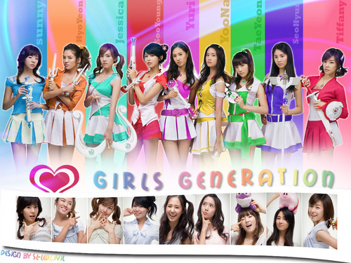 Girls Generation/SNSD wallpaper possibly containing a bridesmaid called snsd
