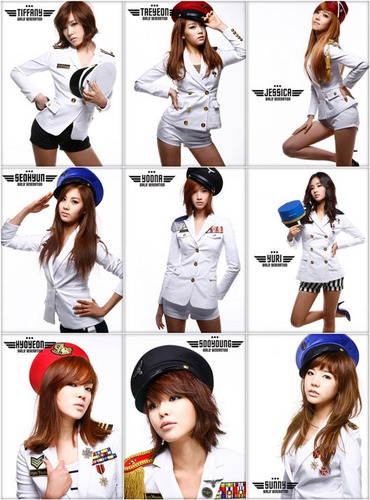 Girl's Generation/SNSD karatasi la kupamba ukuta entitled snsd members