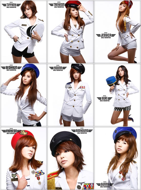snsd members - Girls Generation/SNSD 550x743
