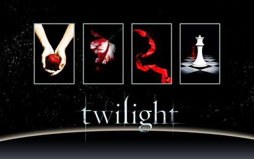 ~~ TWILIGHT SAGA BOOKS ~~  Wallpaper