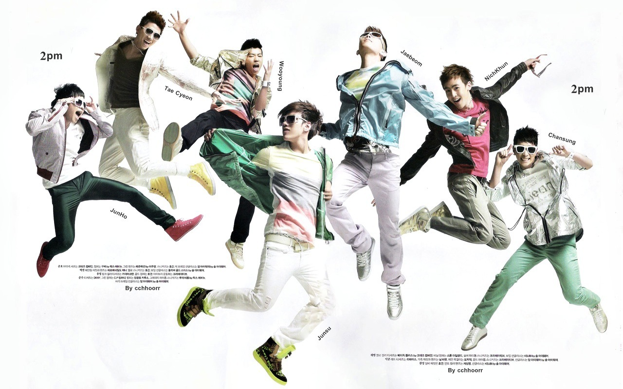 2pm  2pm Wallpaper 9352281  Fanpop
