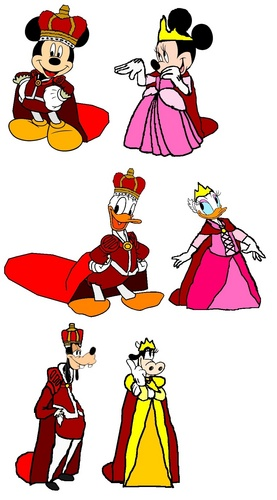 3 Royal Disney Pairs