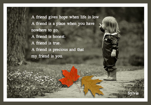 A friend is ...