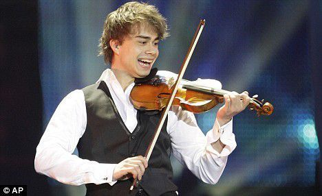 Alex and his violin