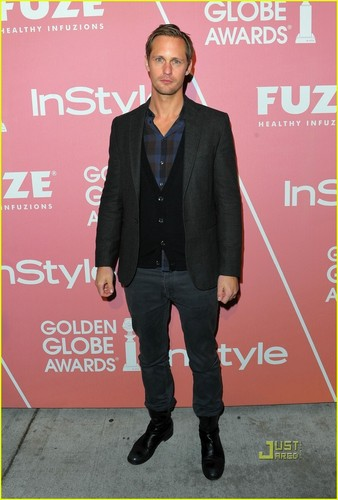 Alexander Skarsgård Has Massive Golden Globes