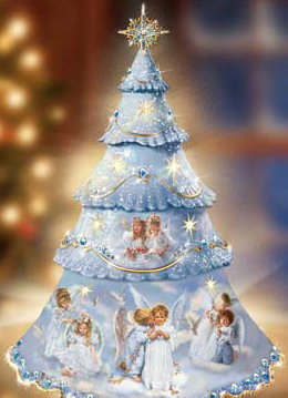Angels wallpaper entitled Angel Christmas Tree