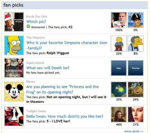 Another Booth Pick on the Fanpop Homepage!
