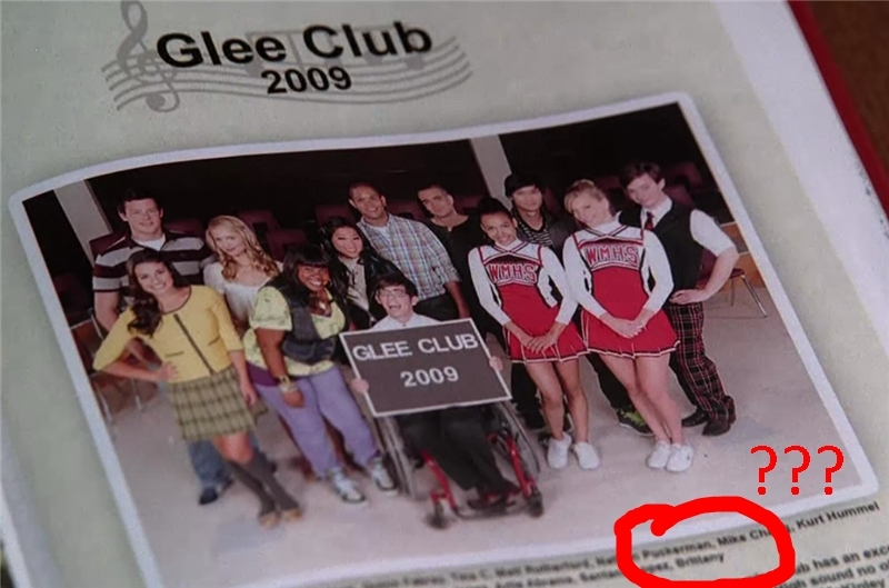 Glee brittany legit has no last name