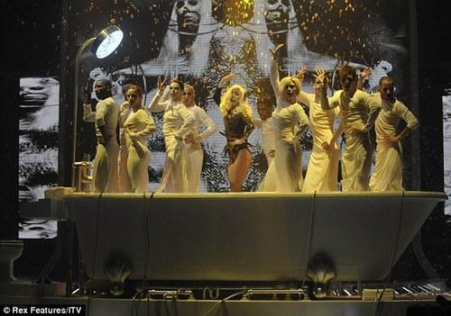 Bad Romance X Factor UK December 6th