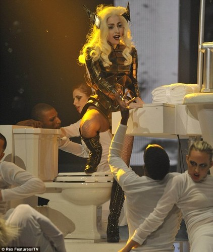 Bad Romance X Factor UK December 6th