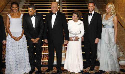 Barack Obama & Michelle's Norway visit! The Nobel peace prize visit in Oslo!