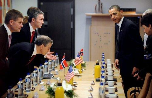 Barack Obama & Michelle's Norway visit! The Nobel peace prize visit in Oslo!