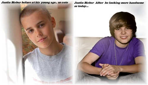 Before and After handsome Justin Bieber !!!!