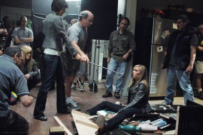 Behind the scenes (03x09 Malleus Maleficarum)