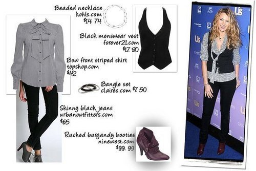 Blake Lively Fashionbook