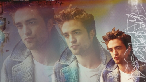Robert Pattinson wallpaper titled Blue Plaid
