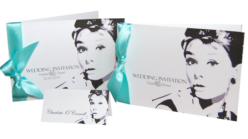 Breakfast At Tiffany's Wedding Invitations / Stationery