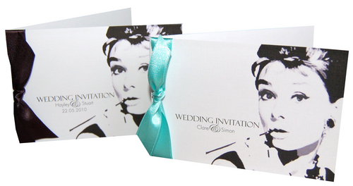 Breakfast At Tiffany's Wedding Invitations / Stationery