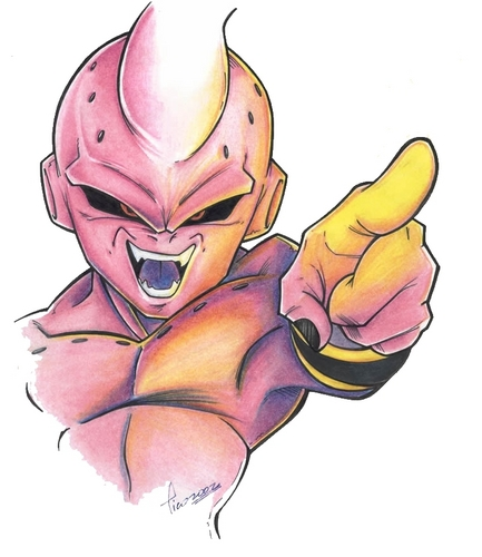 Dragon Ball Z achtergrond probably containing anime titled Buu