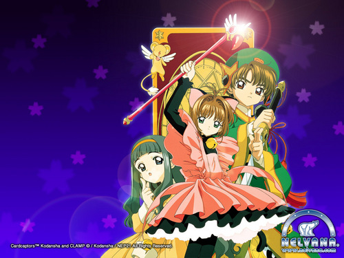 Cardcaptor Sakura wallpaper probably with anime called Cardcaptors Wallpaper
