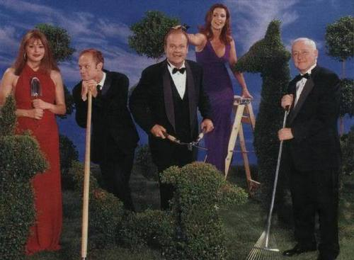 Frasier fondo de pantalla called Cast of Frasier