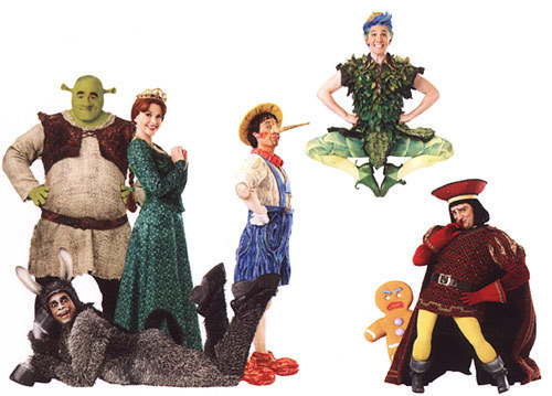 Image Gallery shrek cast