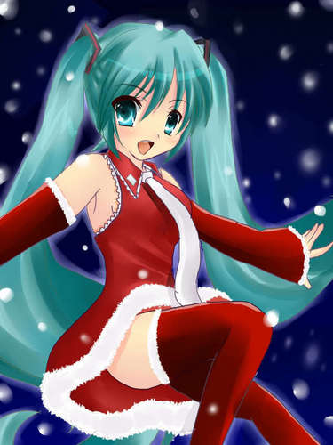 Рождество Miku