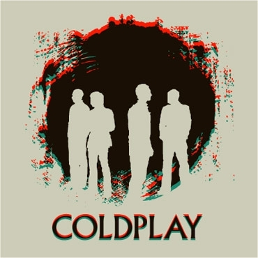 Coldplay karatasi la kupamba ukuta possibly with anime called Coldplay