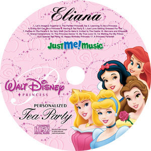 Disney Princess Personalized DVD