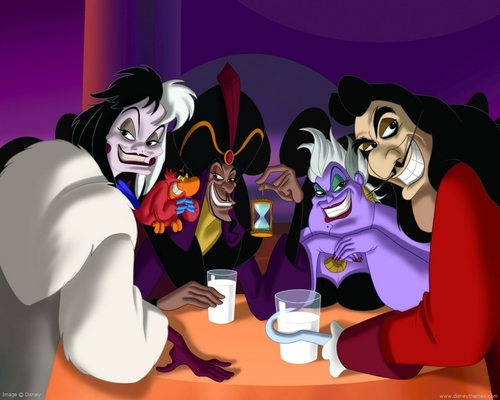 Disney Villains پیپر وال entitled Disney villains