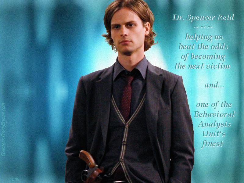 criminal minds reid. Dr. Spencer Reid