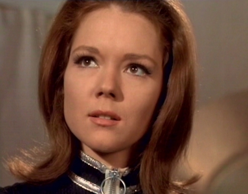 Diana Rigg kertas dinding containing a portrait called Emma Peel