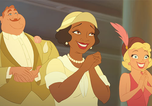 "Eudora, voiced by Oprah, ""Princess & the Frog"""