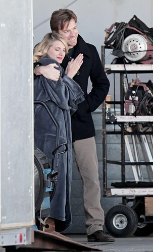 "Ewan McGregor on set of ""Beginners"""